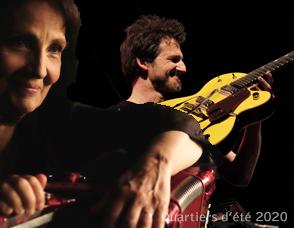 FREDERIC BOBIN / MICHELE BERNARD Balades croisées - chanson quartiers d'été château de la roche copler