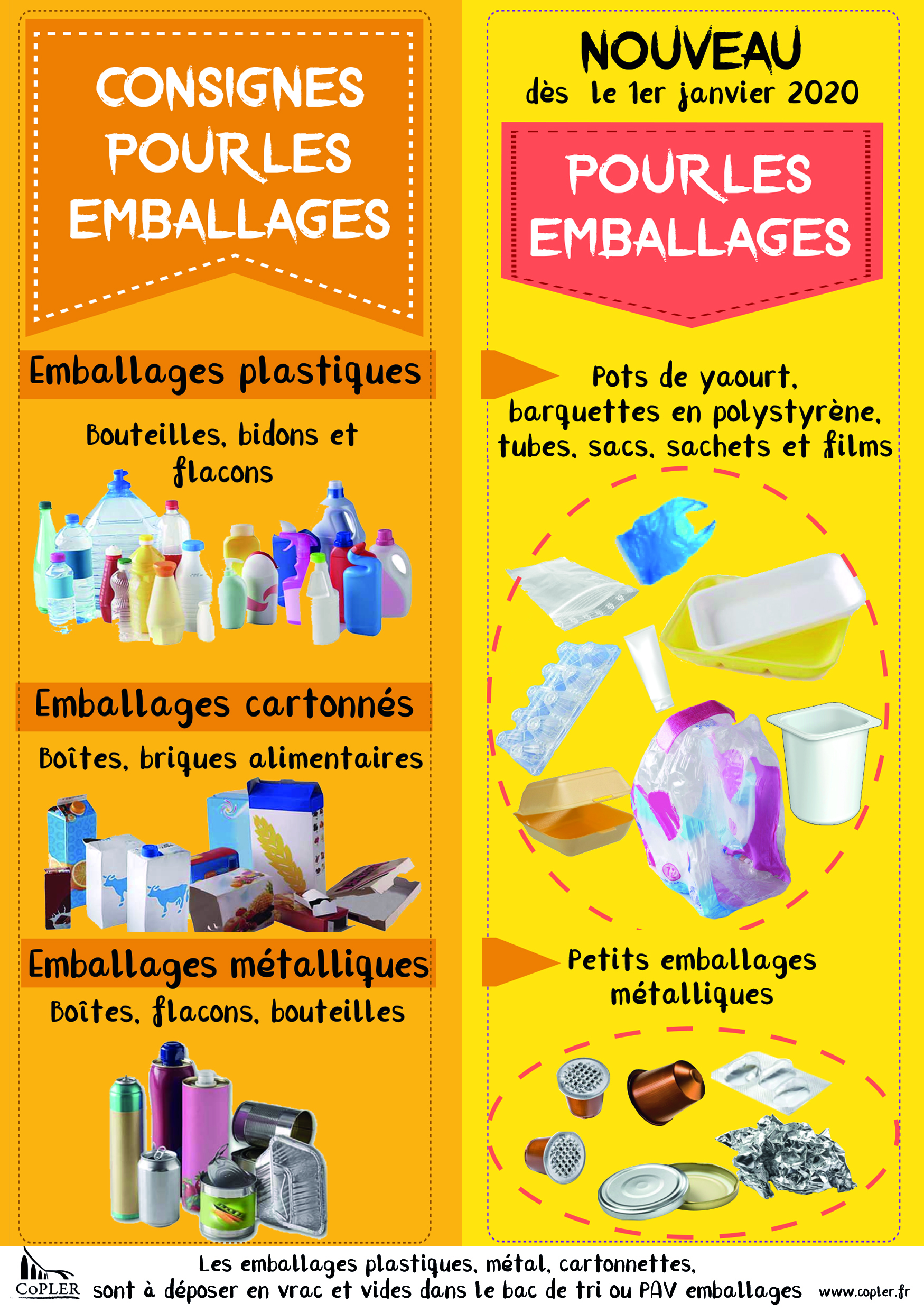Autocollant EMBALLAGES